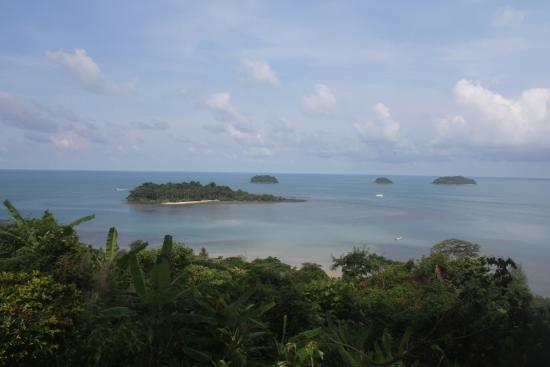 Kai Bae Beach: Вид со смотровой площадки