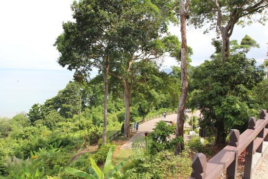 Kai Bae Beach: Вид на смотровую площадку