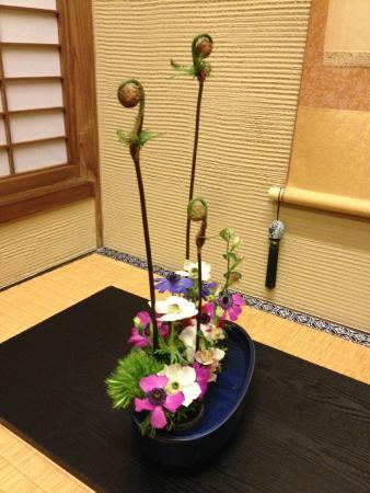 Zen Oyado Nishitei: Spring flowers