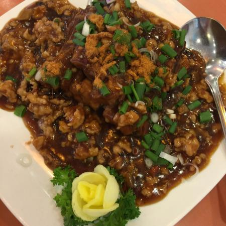 Spicy Egg Plant! Always love the sauce! The best so far!