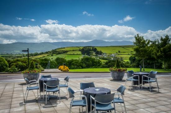 Ballyroe Heights Hotel: View from terrace