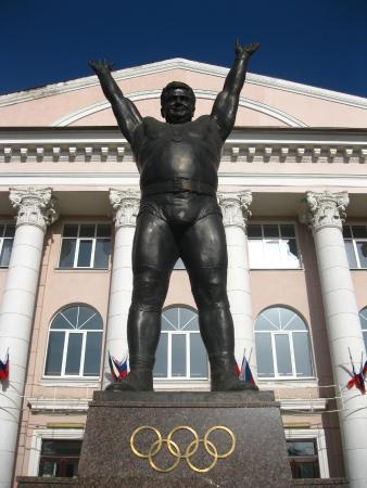 Vasiliy Alekseyev Statue: Вид памятника