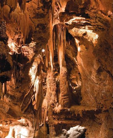 Cathedral Hall At Shenandoah Caverns Virginia