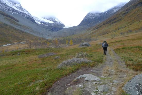 The Steindal's Glacier: On the way to the Steindalsbreen - Photo:Visit Lyngenfjord