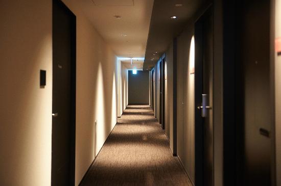 Mitsui Garden Hotel Kyoto Shinmachi Bettei: 旅館走廊