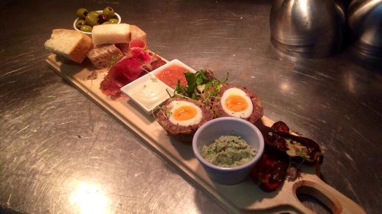 The Gower Kitchen  the meat plank. the meat plank   Picture of The Gower Kitchen  Swansea   TripAdvisor