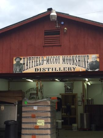 Hatfield & McCoy Distillery, Gilbert, WV