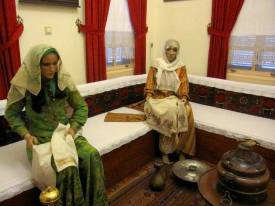 Atatürk ve Etnografya Müzesi oda içi - Bild von Ataturk ...