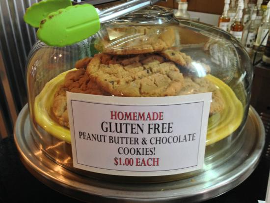 Creperie & Cafe: Gluten Free Peanut Butter Chocolate Chip Cookies