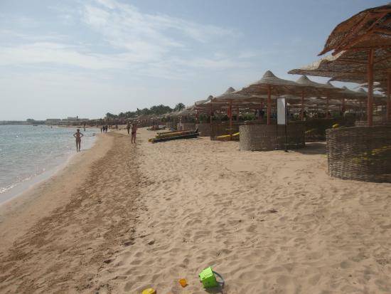 Jaz Makadi Star & Spa: Пляж