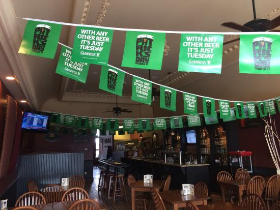 Walker's Landing: St Patrick's Day at the pub