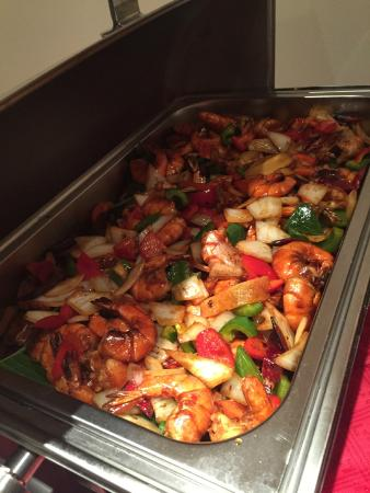 The Park City Grand Plaza Kensington Hotel: Gongpo prawns
