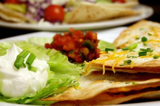 Tomato & Cheese Co: Chicken Quesadillas