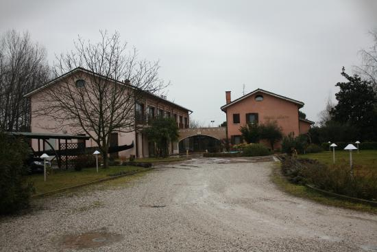 Relais Leon D'Oro: vista hotel