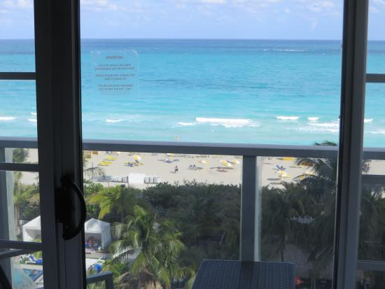 Courtyard Cadillac Miami Beach/Oceanfront : View from the room