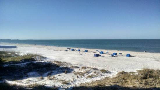 Vistas on the Gulf: View from our balcony - Unit 402