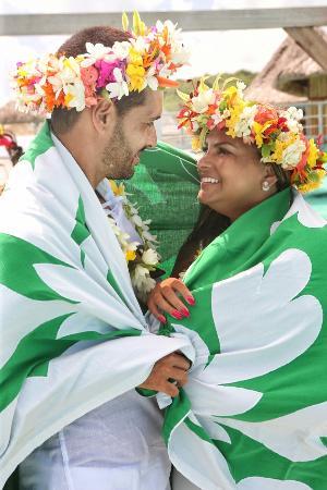 InterContinental Bora Bora Le Moana Resort: Nosso Casamento