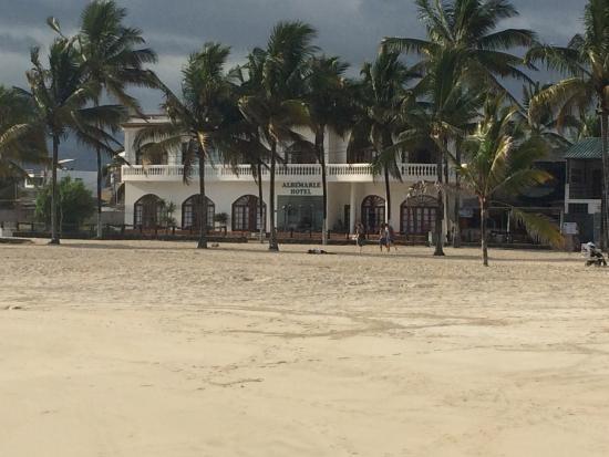 Hotel Albemarle : Strandansicht