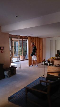 Detalles recepci n fotograf a de hotel ayllon ayll n - Hoteles en ayllon ...