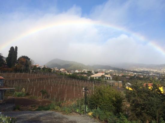 Rainbow at Quinta das Vinhas