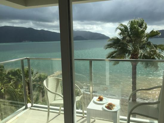 Begonville Beach Hotel : Our view from 4th floor