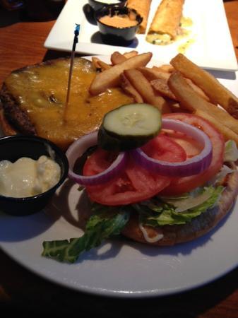 Old Fashioned Cheeseburger - Picture of FATZ, Columbia - TripAdvisor
