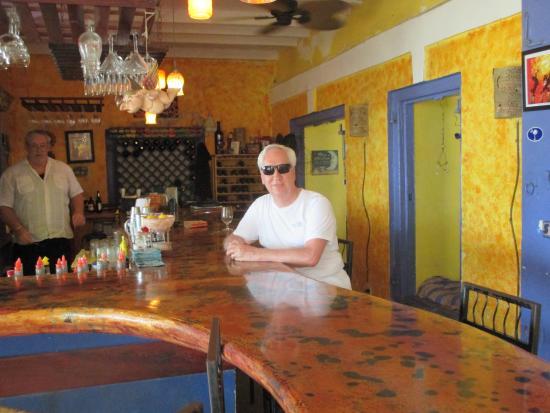 Blue Moon: At the bar
