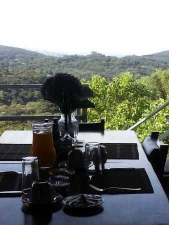 Rancho Makena: desayuno.