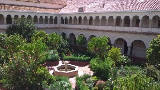 Sucre, بوليفيا: patio del convento
