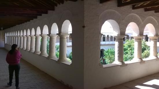 Santa Clara Convent: patio superior del convento