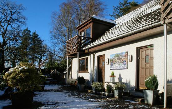 Corrieview Lodges: Lodges Exterior