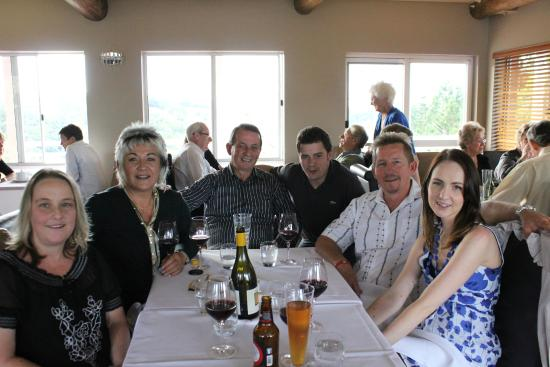 Reserve Restaurant Cellar: Both families soon to be joined.