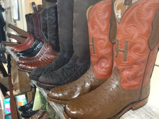 compare price offer terrific value Custom Cowboy Boots - Picture of Republic Boot Co, Houston ...