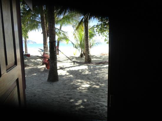 Hotel Casa Valeria Samara: Vista desde la habitación