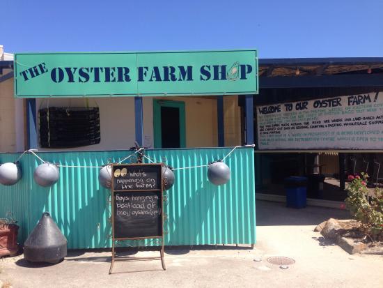 The Oyster Farm Shop: Yummo!
