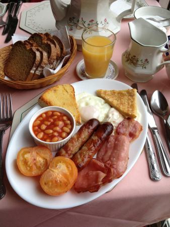 Aaranmore Lodge: Breakfast