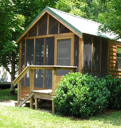 Nolichucky Gorge Campground: Cozy Cabin 1