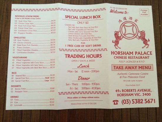 New Hong Kong Restaurant Stawell