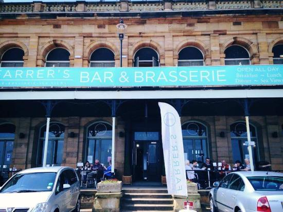Farrers Bar & Brasserie: Brasserie with a view