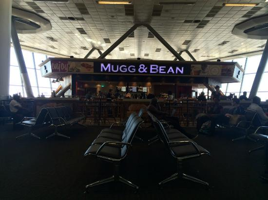 Mugg & Bean: Vista do restaurante.