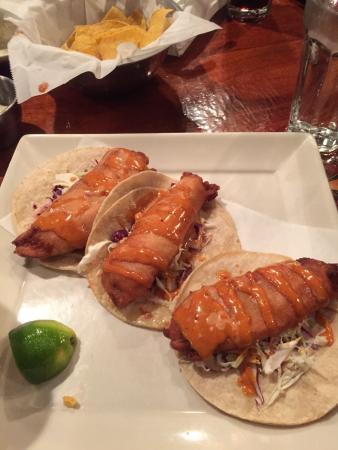NEW** Baja Fish Tacos - Picture of Plaza Azteca, Yorktown ...