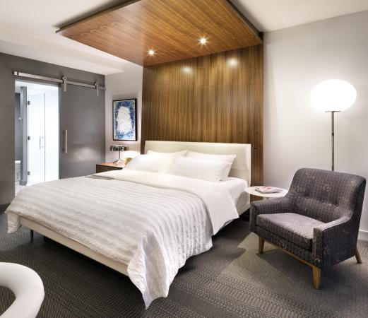 Chic + Contemporary King Guestroom