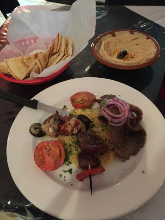 ZINO'S Greek Restaurant: The meat lover entrée is amazing!!!! So much flavor!!!