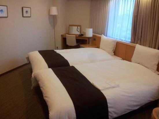 Richmond Hotel Sapporo Ekimae : Hollywood twin room