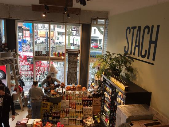 Photo of Modern European Restaurant Stach at Nieuwe Hoogstraat 1a, Amsterdam 1011 HC, Netherlands