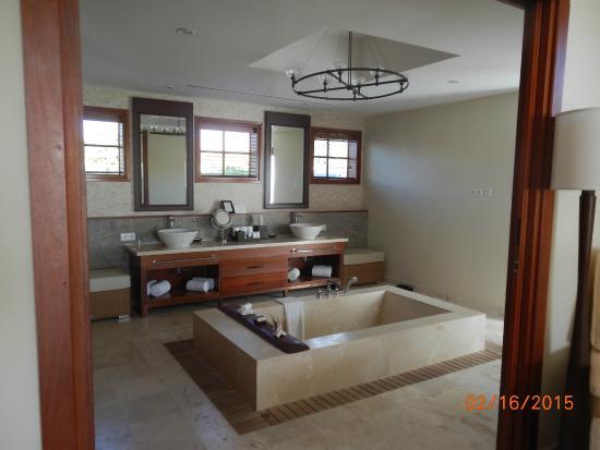 Nieuwpoort, Curaçao: Traditions Spa Suite Bathroom