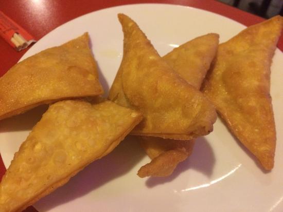 Indochin Vietnamese Restaurant: Cream cheese wontons