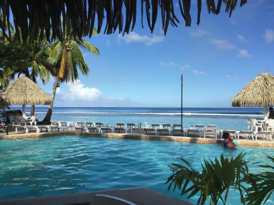 Amazing aitutaki picture of the edgewater resort spa for The edge water