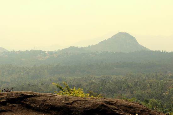 Edakkal Hermitage: View from cottage