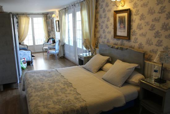 Villa Bastide : La chambre bleue